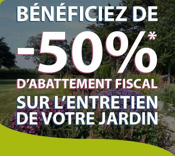 50 Dabattement Fiscal Pour Lentretien De Votre Jardin